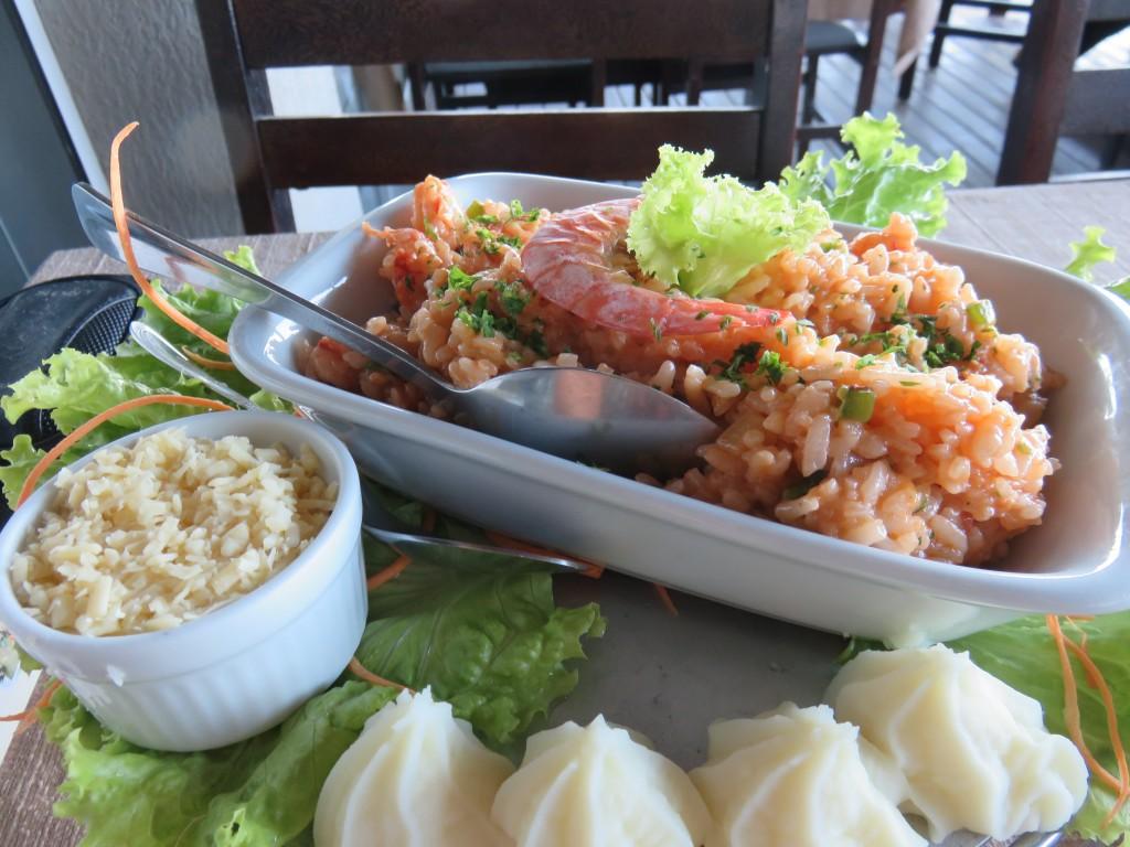 Restaurante Delícias do Mar, em Bombinhas. Foto: Marcelle Ribeiro.
