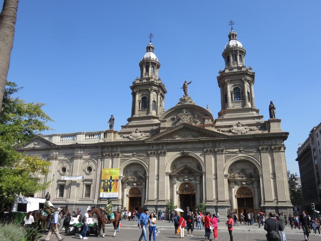 Catedral Metropolitana de Santiago. Foto: Marcelle Ribeiro.