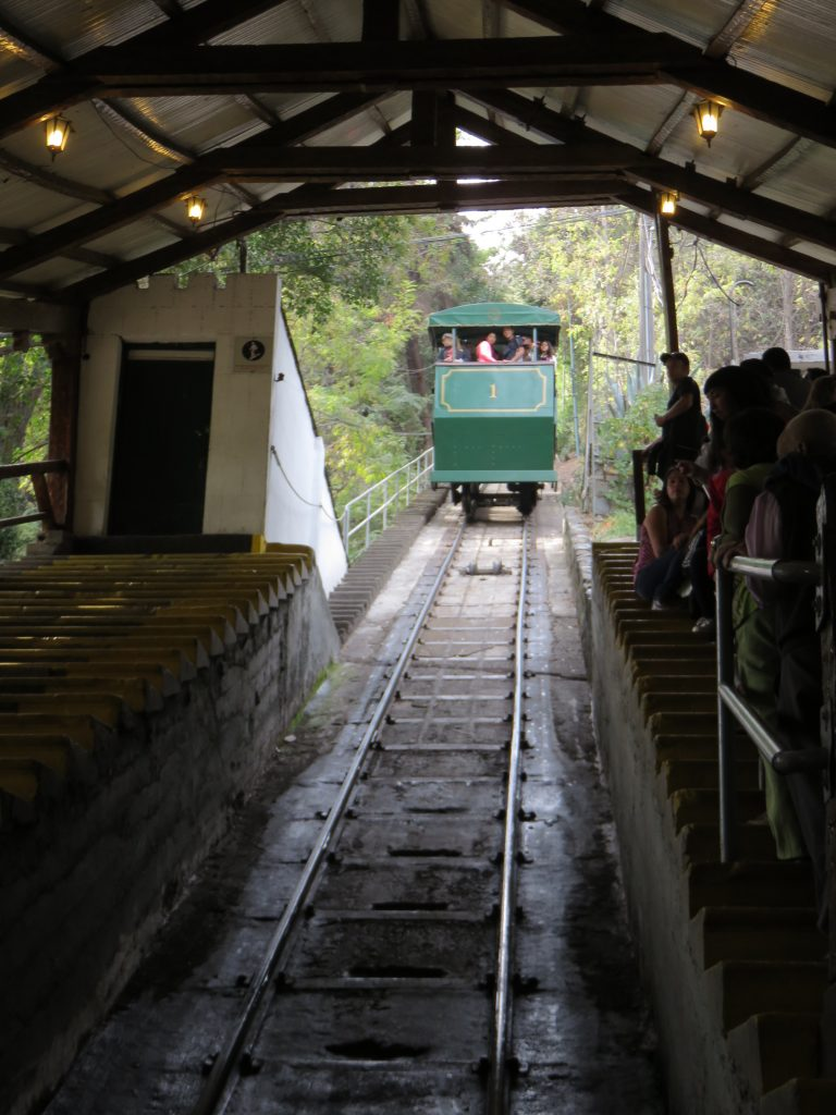Funicular do Parque Metropolitano. Foto: Marcelle Ribeiro.