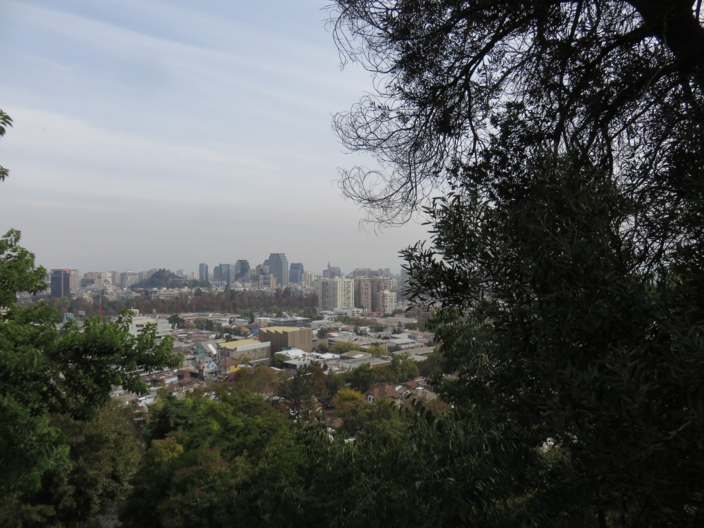 Vista do funicular do Parque Metropolitano. Foto: Marcelle Ribeiro.