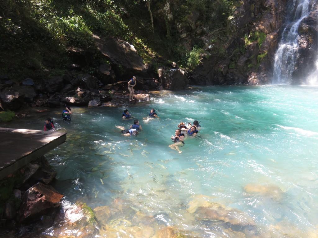 Cachoeira da Serra Azul. Foto: Marcelle Ribeiro