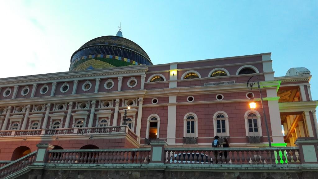 Teatro Amazonas, em Manaus. Foto: Marcelle Ribeiro.