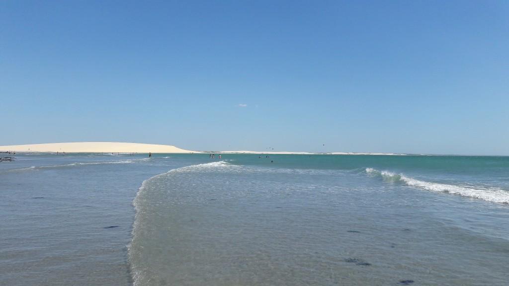 Praia principal de Jericoacoara. Foto: Marcelle Ribeiro.