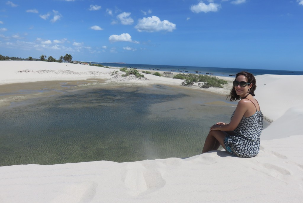 Dunas da praia da Barrinha.
