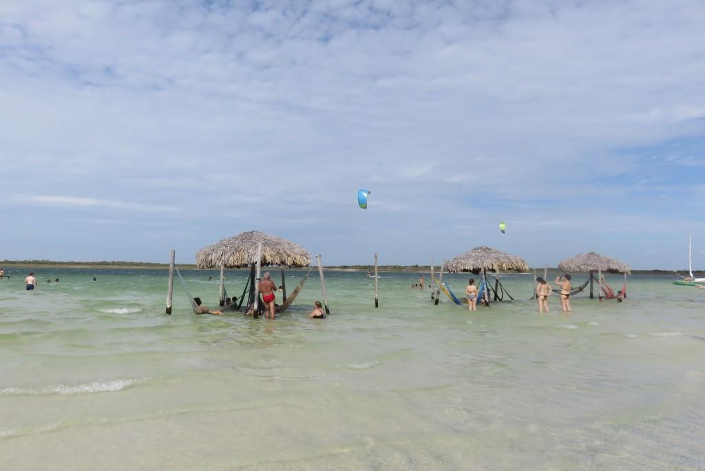 Barraca Alchymist, na Lagoa do Paraíso. Foto: Marcelle Ribeiro.