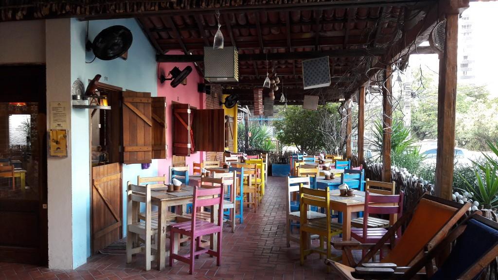 Restaurante Parraxaxá, em Recife. Foto: Marcelle Ribeiro.