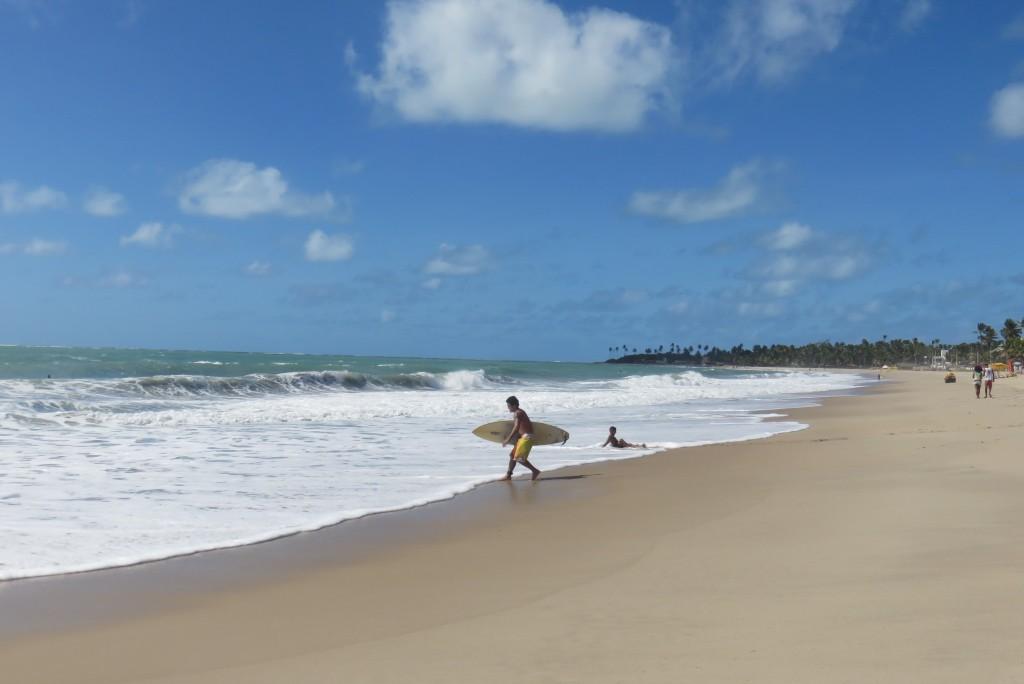 Praia de Maracaípe, em Porto de Galinhas. Foto: Marcelle Ribeiro.