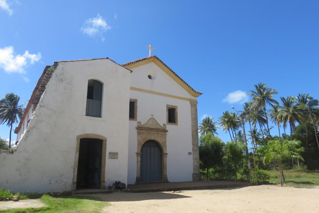 Igreja de Nazaré, em Cabo de Santo Agostinho. Foto: Marcelle Ribeiro.