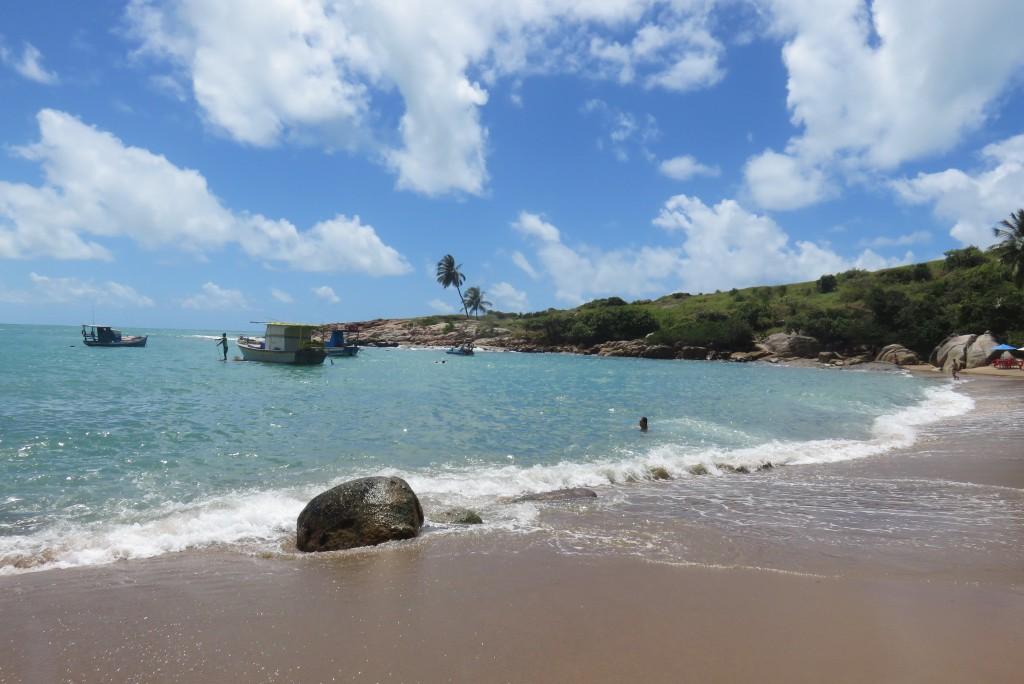 Praia de Calhetas, em Cabo de Santo Agostinho. Foto: Marcelle Ribeiro.
