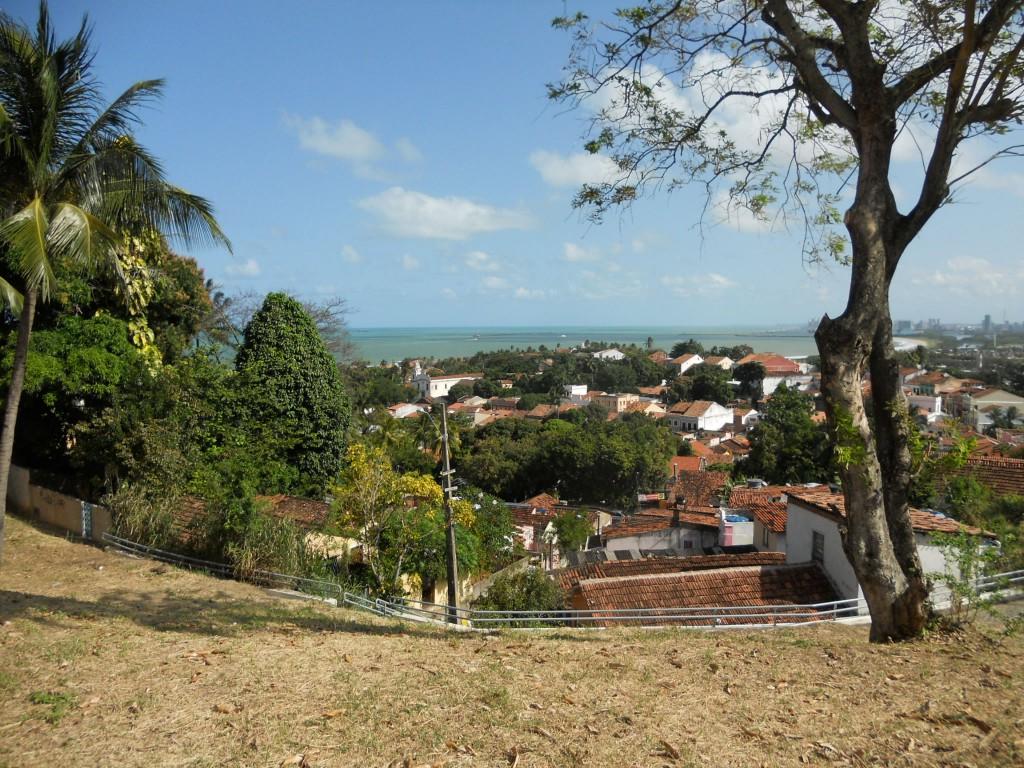 Vista bonitona das ladeiras de Olinda. Foto: Marcelle Ribeiro.