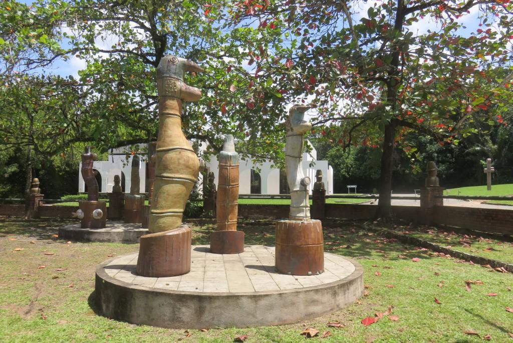 Oficina de cerâmica Francisco Brennand. Foto: Marcelle Ribeiro