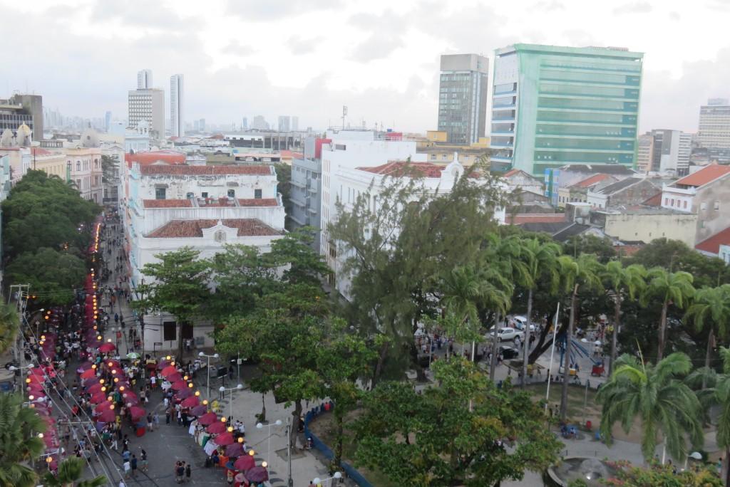 Praça Arsenal da Marinha vista da Torre Malakoff. Foto: Marcelle Ribeiro.