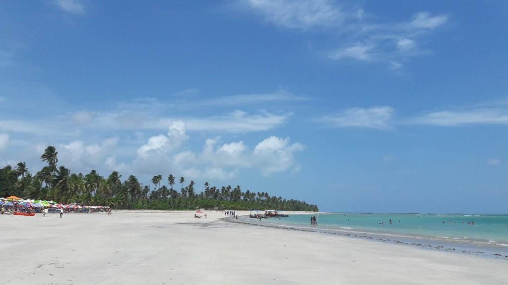 Praia do Riacho, São Miguel dos Milagres. Foto: Marcelle Ribeiro