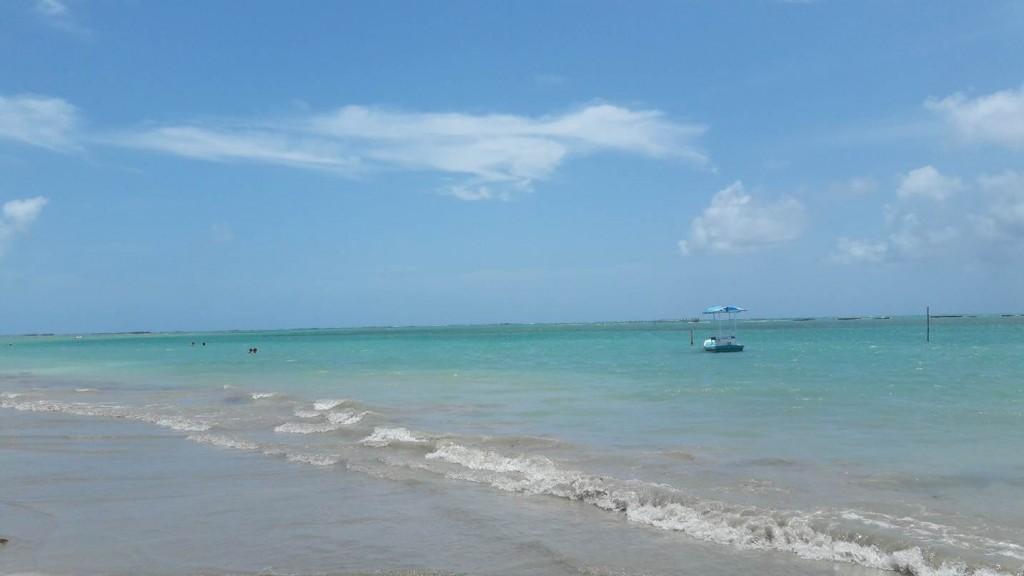 A praia do Riacho é uma das maravilhas da Costa dos Corais. Foto: Marcelle Ribeiro