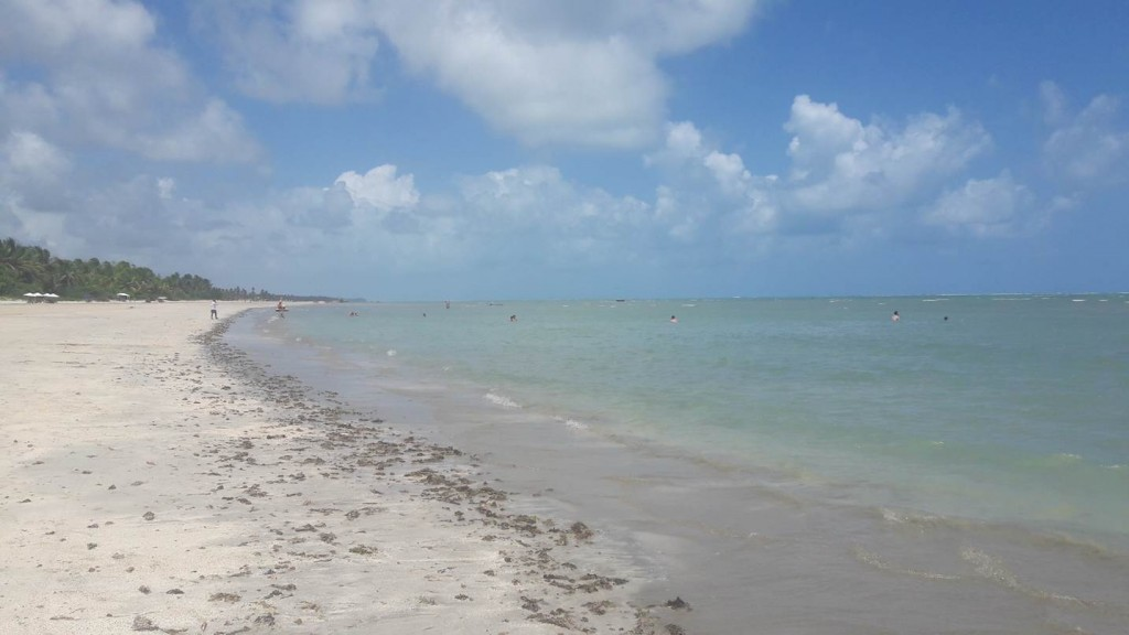 A praia do Toque é uma delícia. Foto: Marcelle Ribeiro