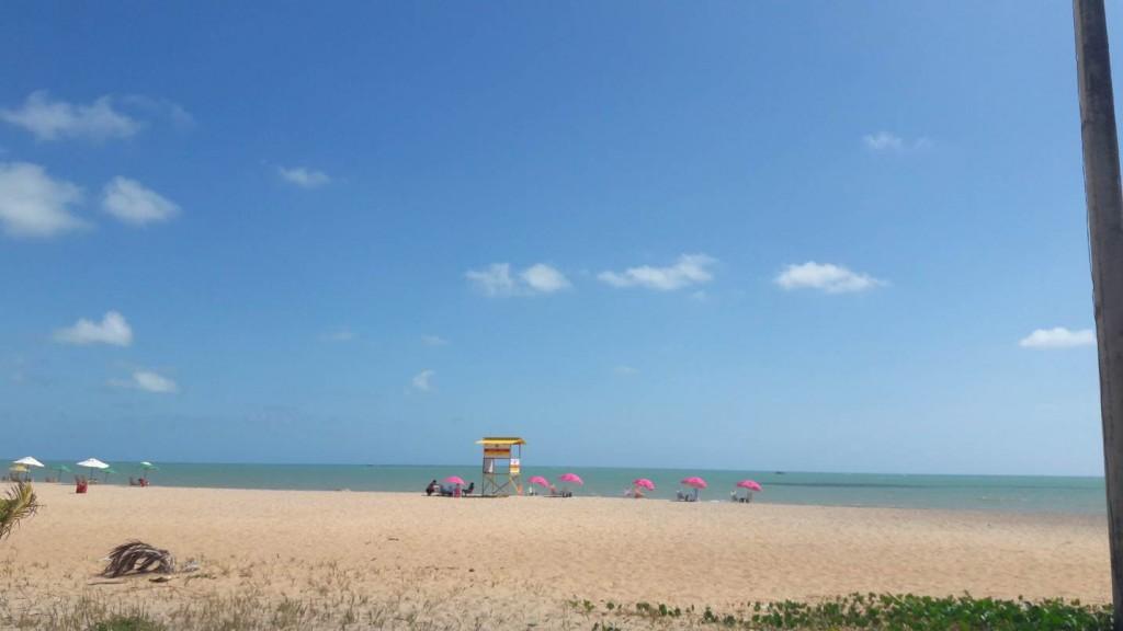 Praia de Cabo Branco, em João Pessoa. Foto: Marcelle Ribeiro.