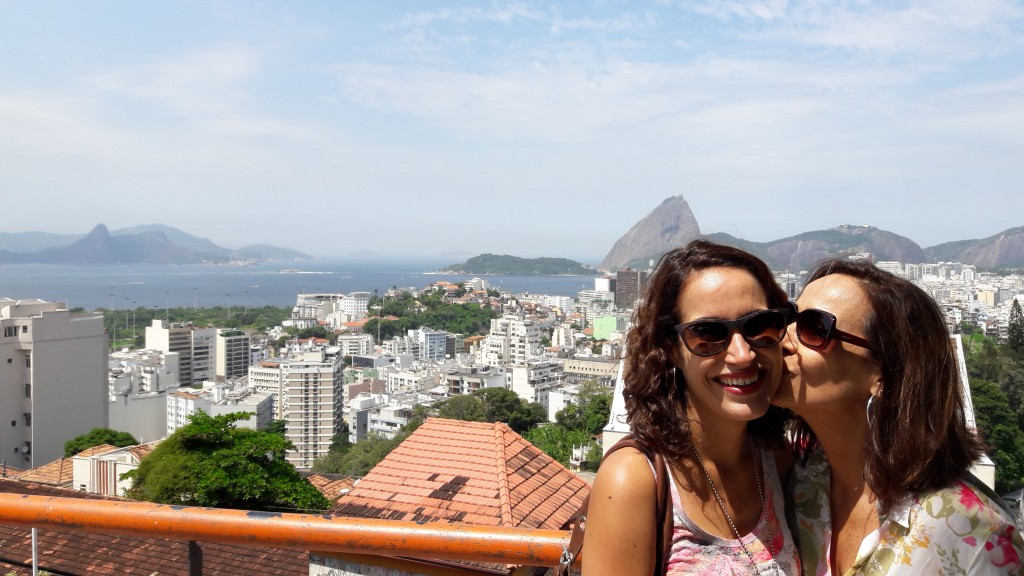 Vista do Rio de Janeiro a partir do Parque das Ruínas