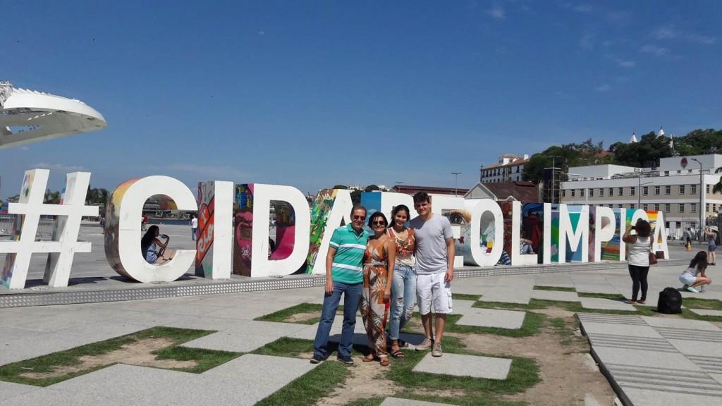 Letreiro em homenagem à cidade. Foto: Marcelle Ribeiro