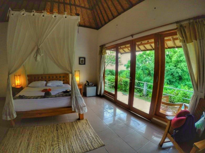 Hotel Lembongan Cliff Villas, em Nusa Lembongan. Foto: Jeann Marcell Andrade.
