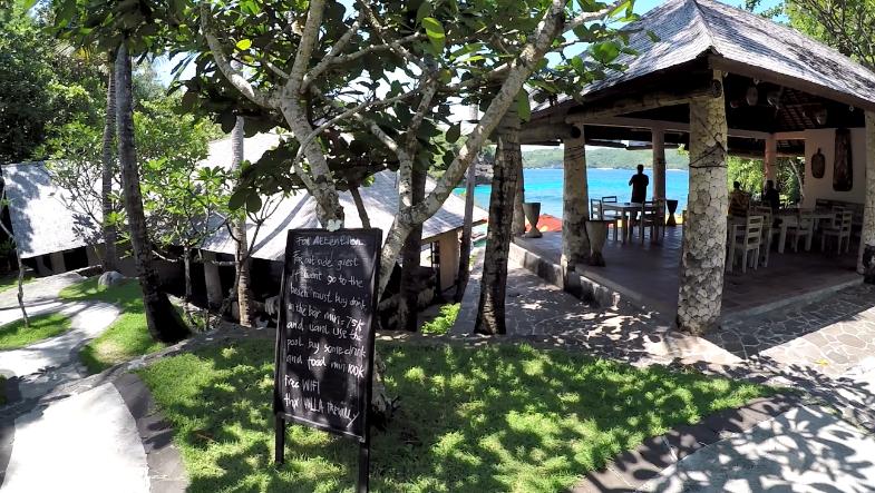Restaurante da Secret Beach. Foto: Nathália Braga.