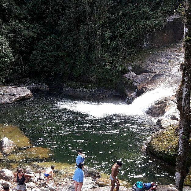 Cachoeira Itaporani, no Parque de Itatiaia