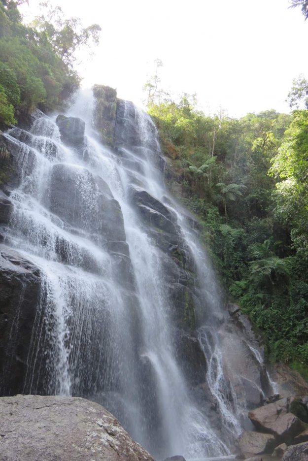 Cachoeira do Véu da Noiva, no Parque Nacional de Itatiaia.