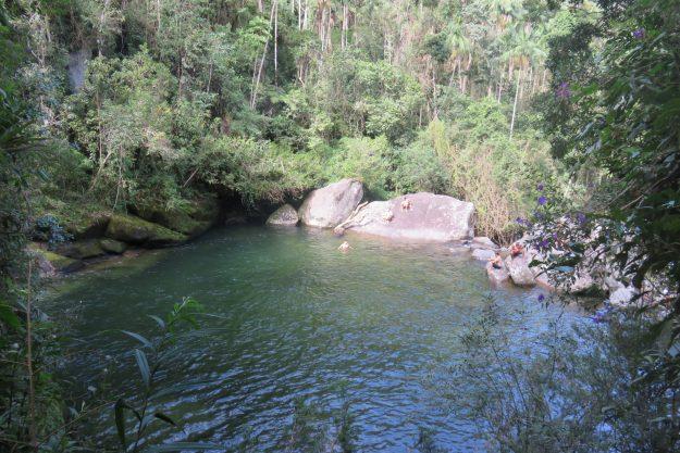 Piscina do Maromba, no Parque Nacional de Itatiaia.
