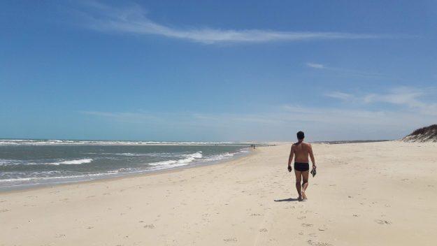 Praia de Águas Belas, no Ceará.