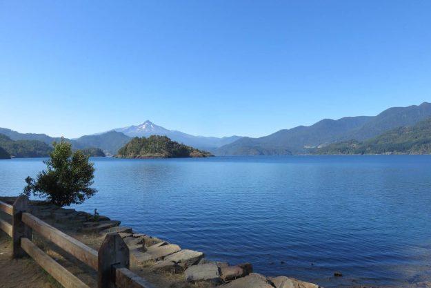 A beleza dos lagos chilenos