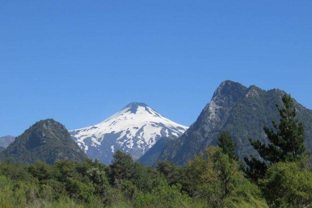 Montanhas do Chile vistas do avião
