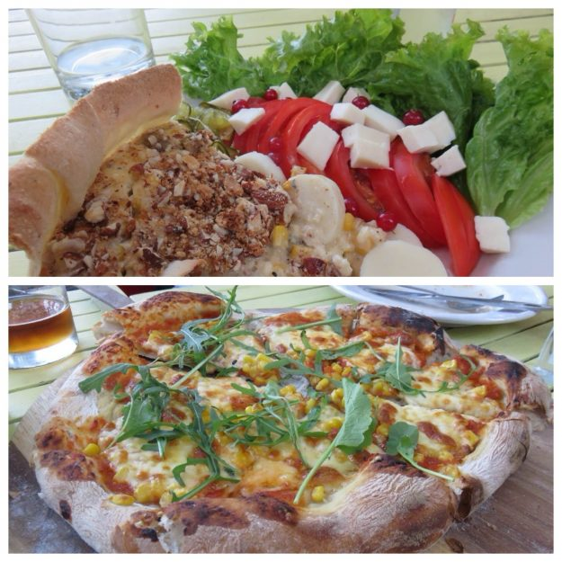 Restaurante Amakay, nas proximidades de Pucón.