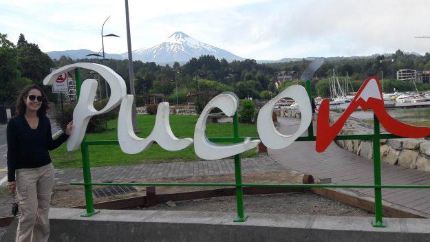 Região de La Poza, no centrinho de Pucón.