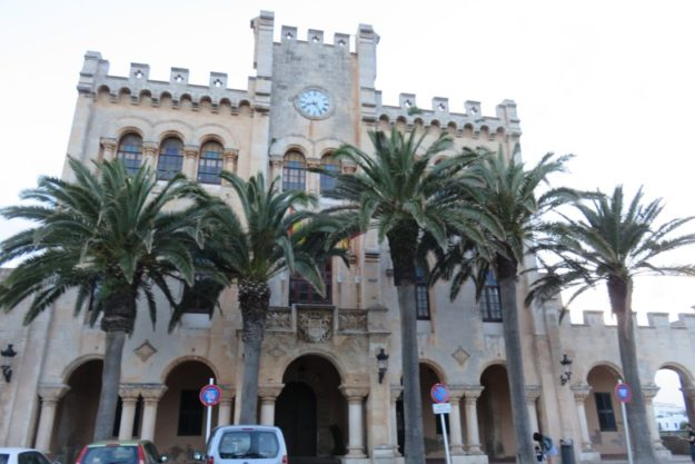 construção historica ciutadella menorca