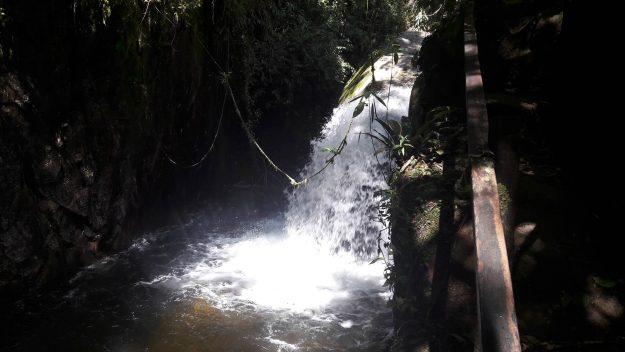 Cachoeira Toca da Raposa, em Mauá.