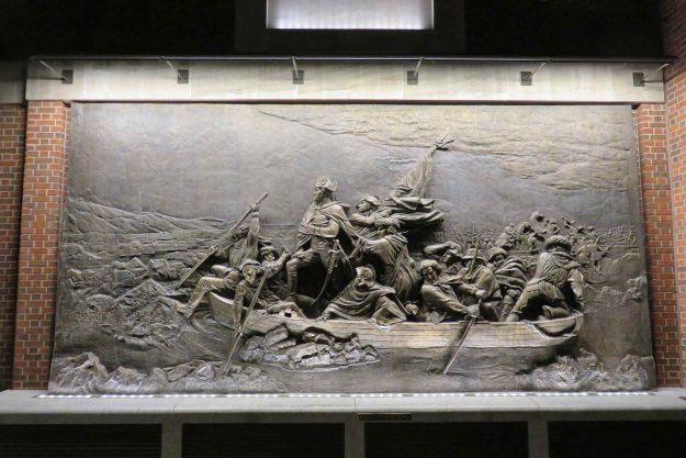 Lado de fora do Museum of American Revolution.