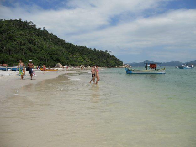 viagem de carro pelo brasil - ilha de campeche santa catarina