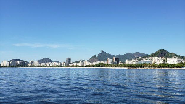 Orla do Rio vista caminho Cagarras