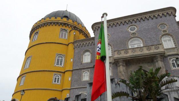 O que fazer em Sintra Palácio da Pena fachada
