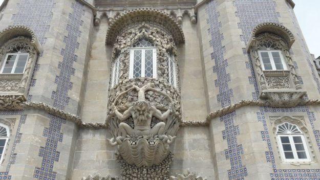 O que fazer em Sintra Palácio da Pena detalhe