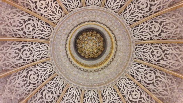 O que fazer em Sintra Palácio de Monserrate teto