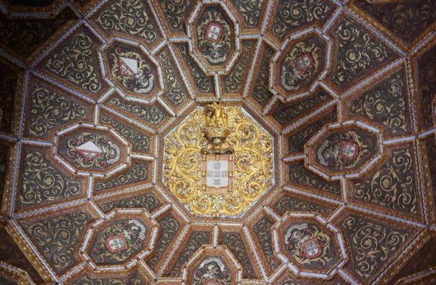 O que fazer em Sintra Palácio da Vila cúpula