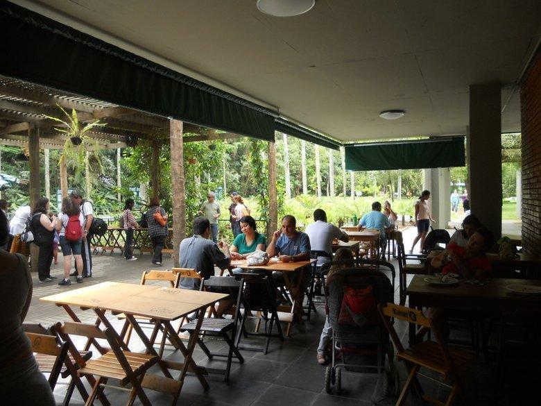 o que fazer em sp jardim botânico restaurante