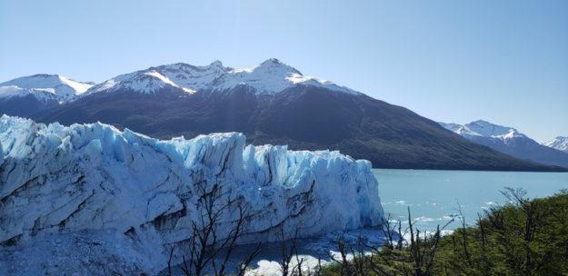 glaciar Perito Moreno vista da trilha vermelha