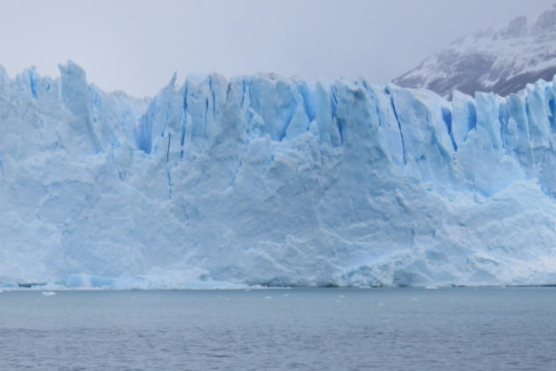 vista do safari nautico glaciar Perito Moreno